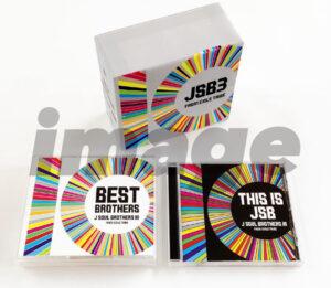 三代目JSBベストアルバム&オリジナルアルバムのジャケットが解禁! ファンとの歩みを色で表現