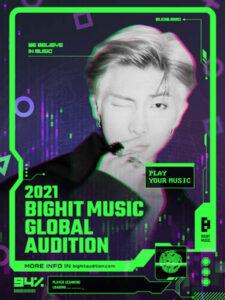BTS、TOMORROW X TOGETHER所属レーベルのBIGHIT MUSIC『2021 BIGHIT MUSIC GLOBAL AUDITION』開催決定!