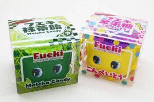 大人気フエキのりが「フエキ抹茶飴」と「フエキ金平糖」に大変身!