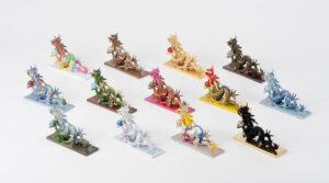 高岡銅器×4歳児の化学反応!子どもたちのぬり絵を元に伝統産業職人が再現した龍の鋳物をはじめ87体の龍が集結する「売れよドラゴン展」開催